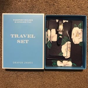 Brand new passport holder and luggage tag